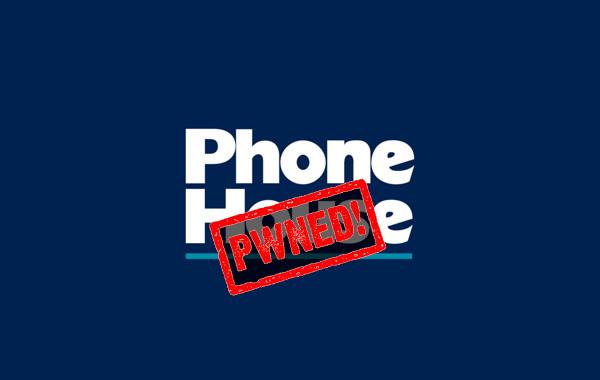 "Logo The Phone House + Etiqueta ""Pwned"""
