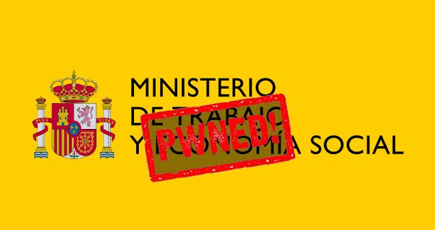El Ministerio de Trabajo de España, víctima de un ciberataque